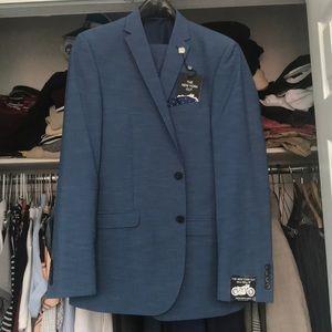 Other - Light Blue Trendy Summer Suit